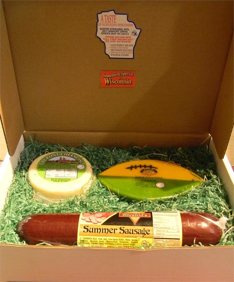 Wisconsin Cheese and Sausage Gift Box