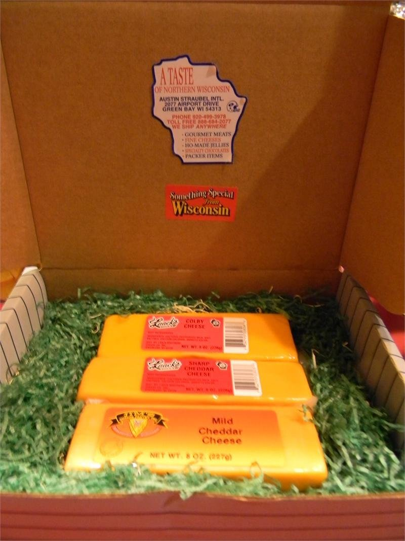 Wisconsin Cheese 3 Brick Gift Box
