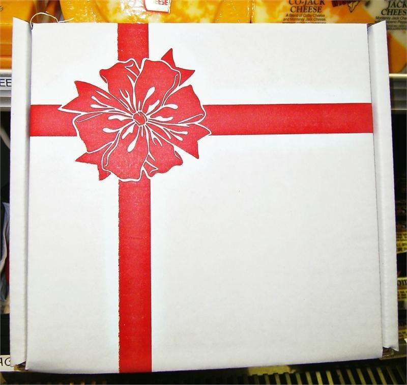 Jim's Cheddar Wisconsin Cheese Gift Box