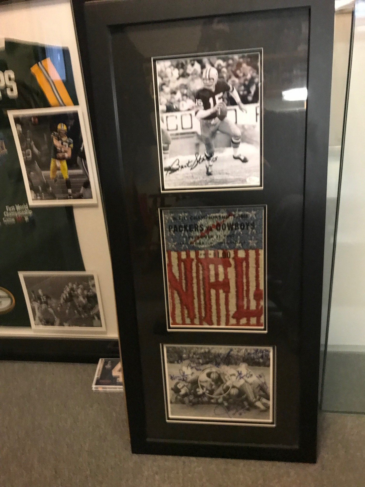 Framed 1967 Ice Bowl Collage