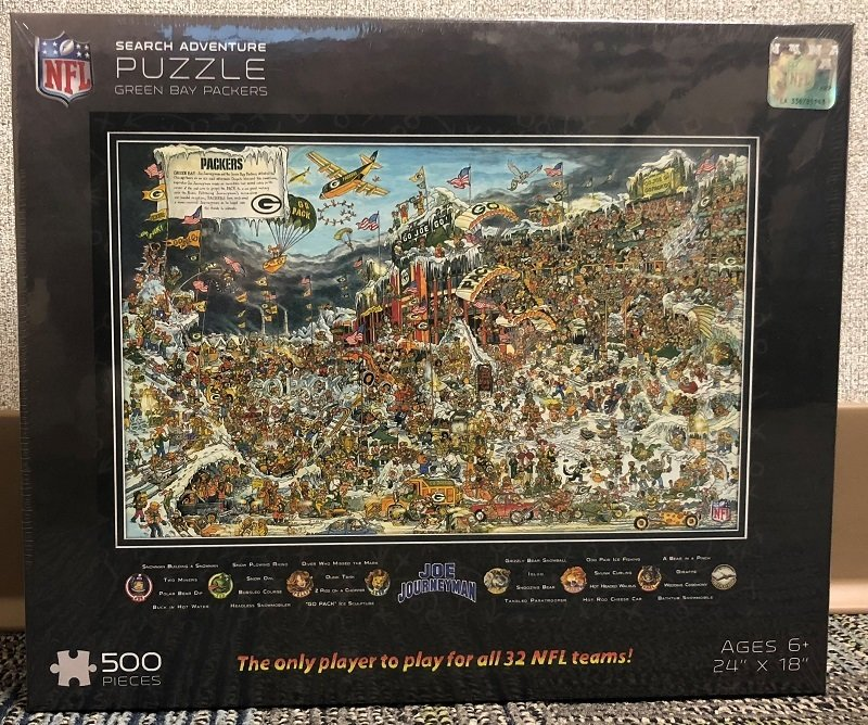 Green Bay Packers 500 Piece Puzzle 00054