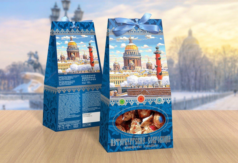 Конфетный микс «Петербургские сокровища»
