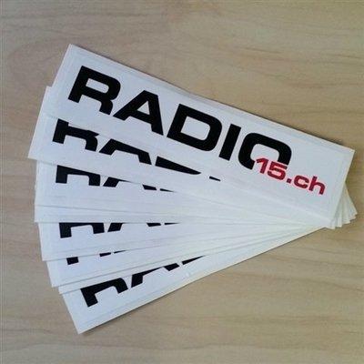 Radio15.ch Kleber