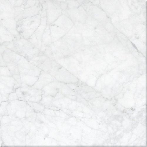 Marble - Bianco Carrara honed
