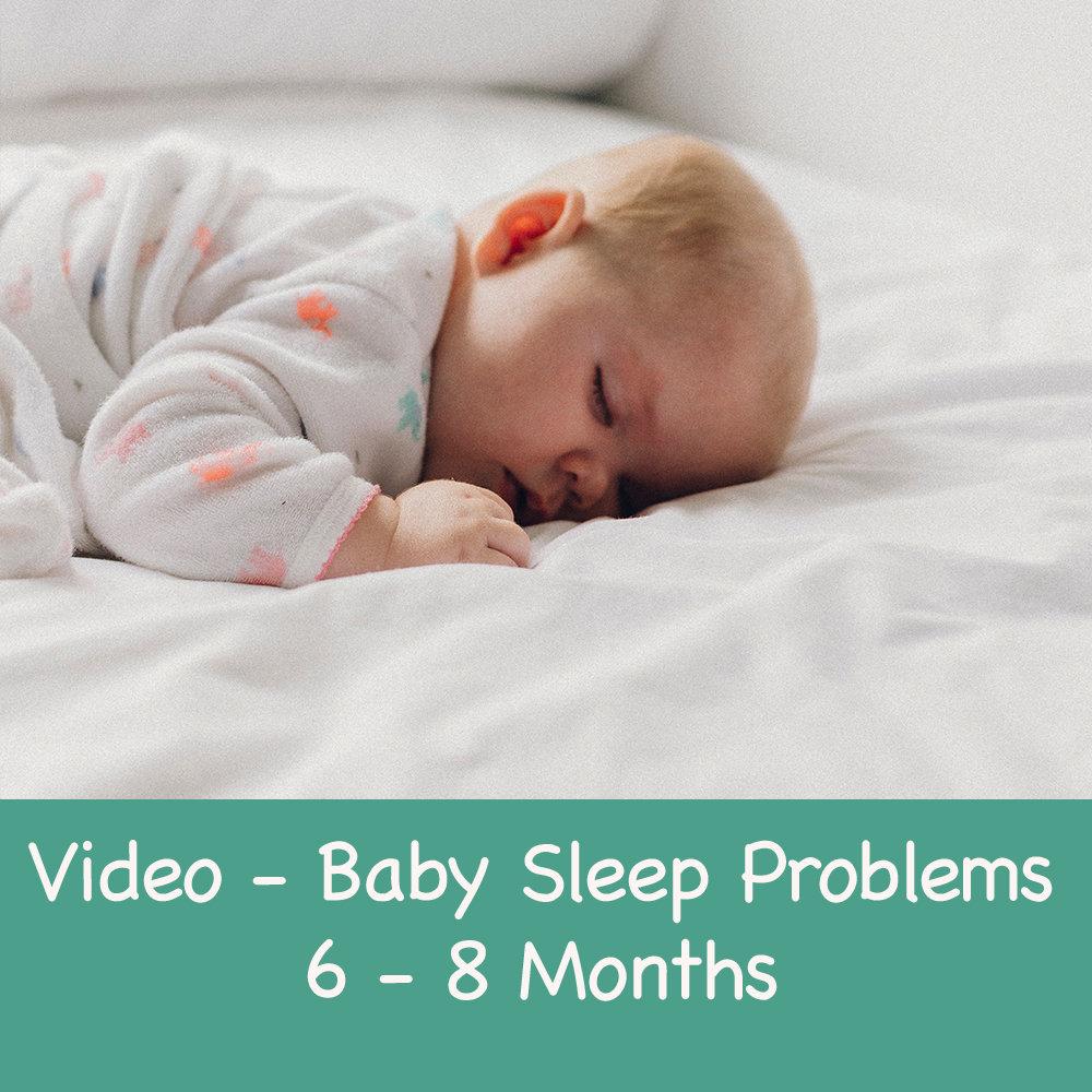 Baby Sleep Guidance 6-8 months