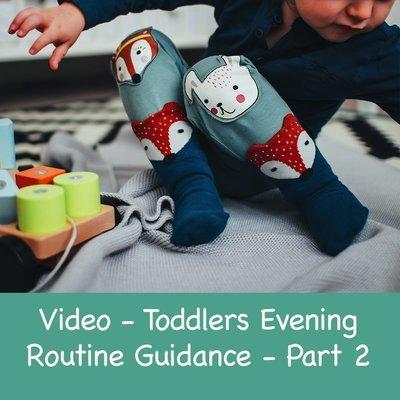 Toddler Evening Routine Guidance - Part 2