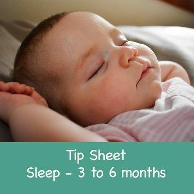 Sleep Guidance 3 - 6 months