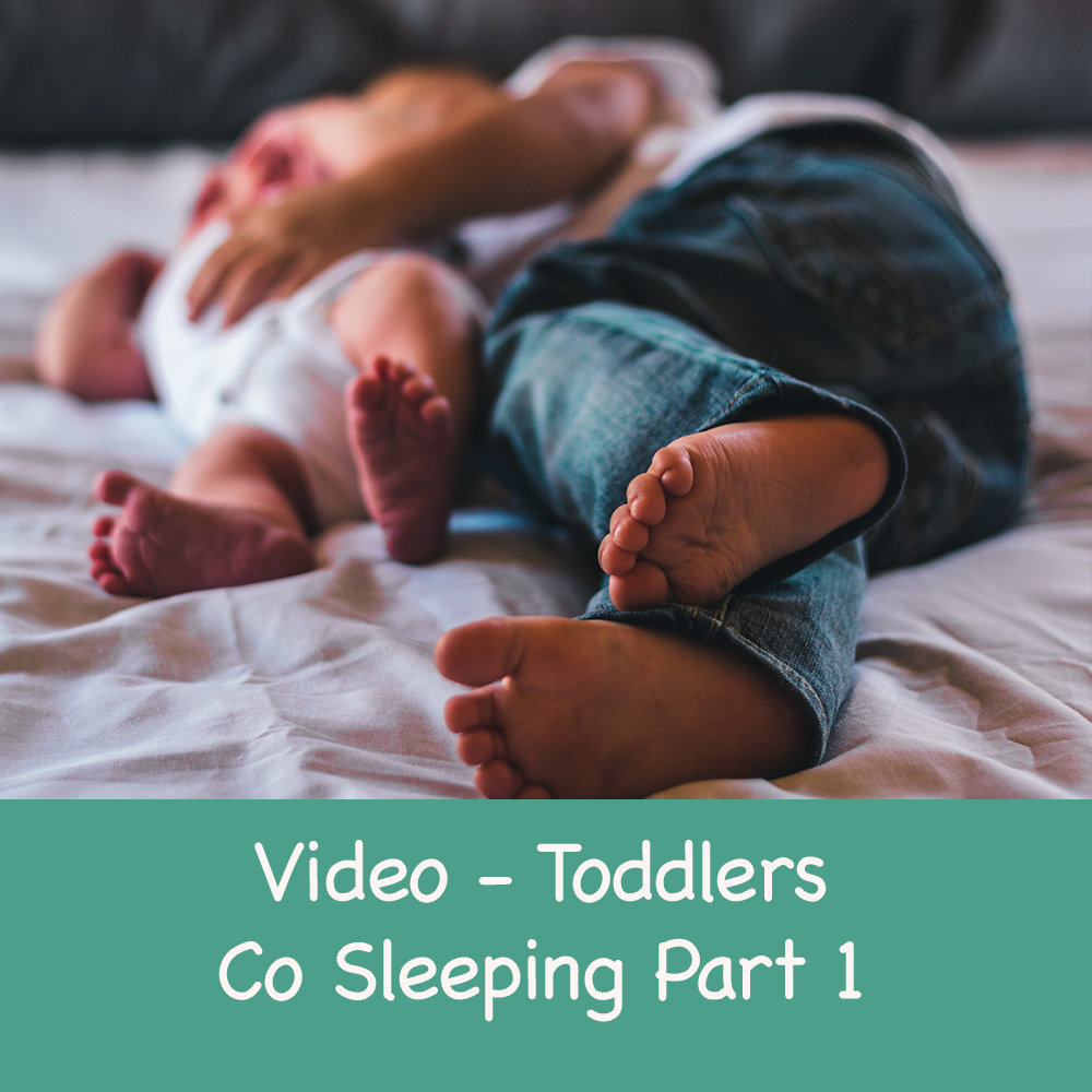 Transitioning your toddler from co sleeping to their own cot- Part 1