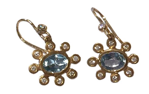 Flower Swing Earrings (SOLD)