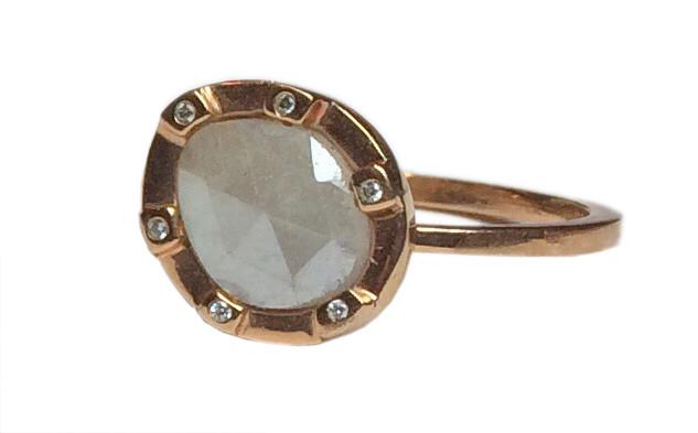 Cubist Sapphire Ring