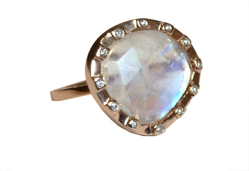 Cubist Slice Ring (SOLD)