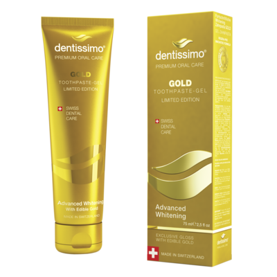 DENTISSIMO GOLD Advanced whitening 75ml
