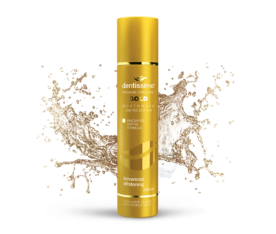 DENTISSIMO GOLD Advanced Whitening 250ml 0% Alcohol