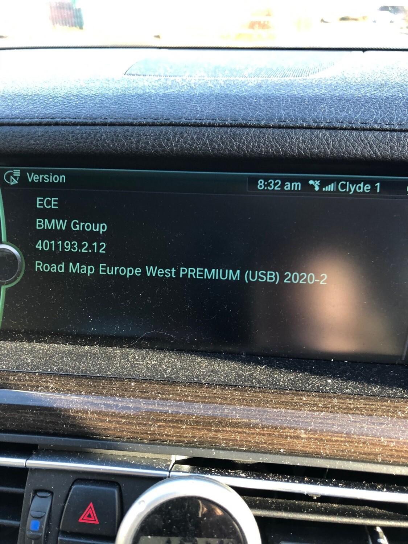 2020-2 BMW PREMIUM NEXT MOVE MOTION SAT NAV UPDATE