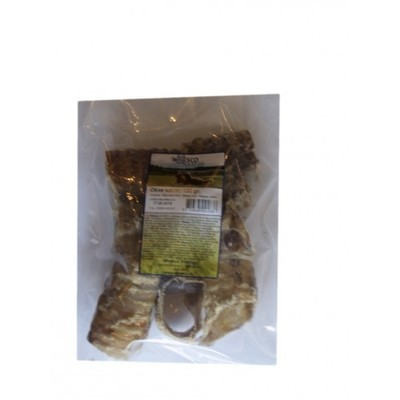 Naturlige snacks - Okseluftrør 150 gram.
