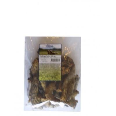 Naturlige snacks - Kyllingehalse 250 gram.