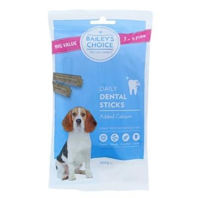 Bailey's choice dental sticks 200 gr.