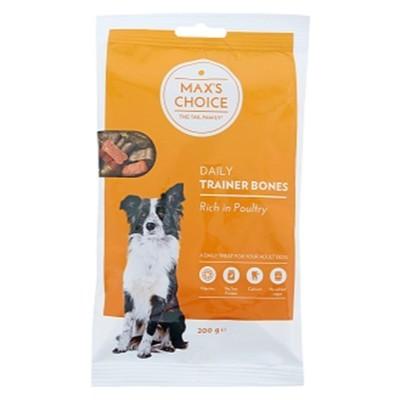 Max's choice trainer bones 200gr