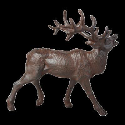 Brølende hjort i jern
