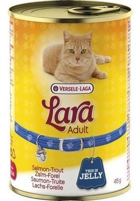 Lara Adult Laks og Ørred dåsemad 415 gram.