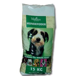 Møllerens hundefoder 15 kg.