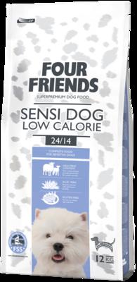 Four Friends sensi dog low calorie 12 kg.