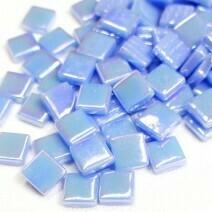 Pale Blue Iridised