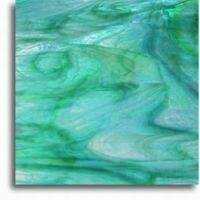 Turquoise lime swirl