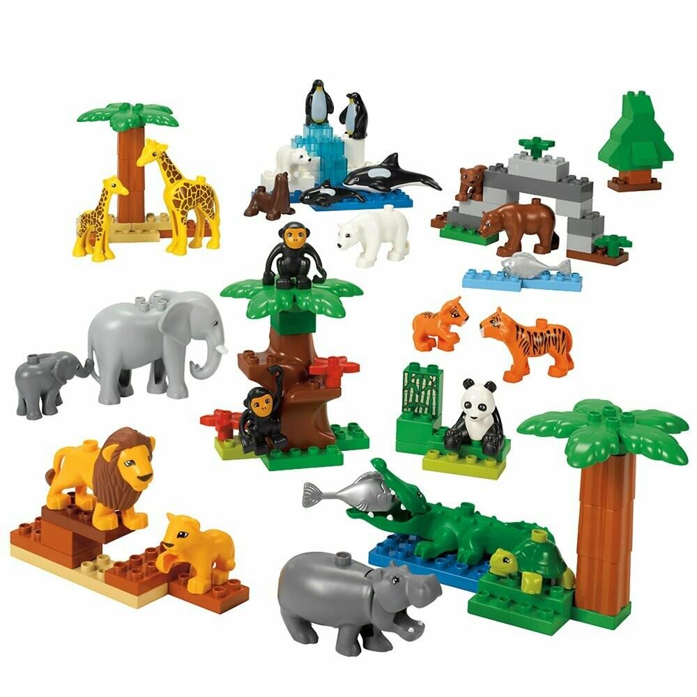 LEGO 9218 Дикие животные DUPLO