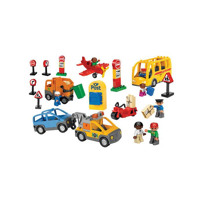 LEGO 9207 Общественный и муниципальный транспорт DUPLO