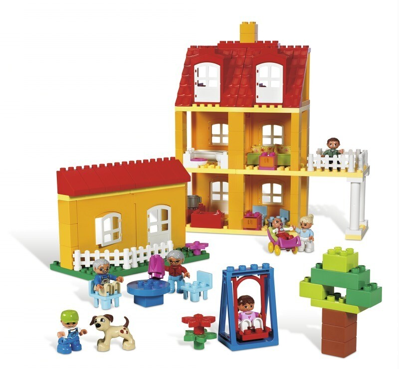 LEGO 9091 Дом для семьи DUPLO