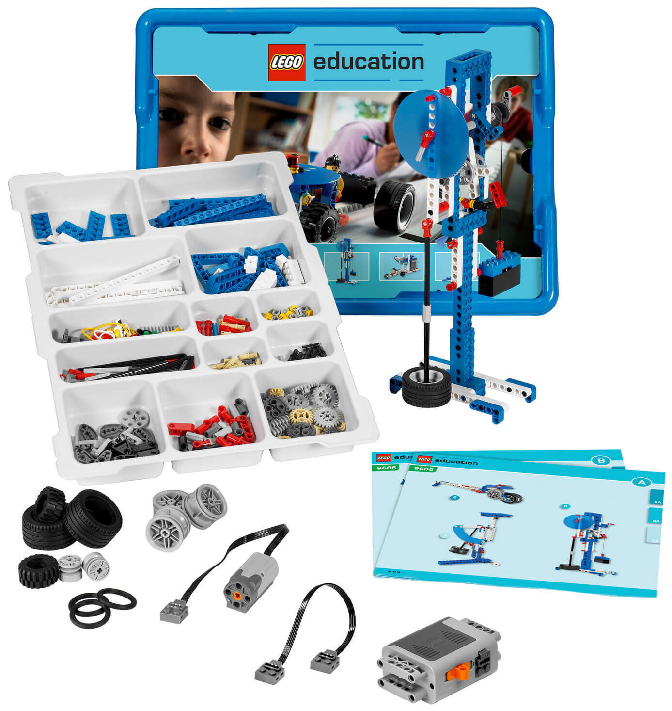 LEGO 9686 Образовательное решение «Технология и основы механики»