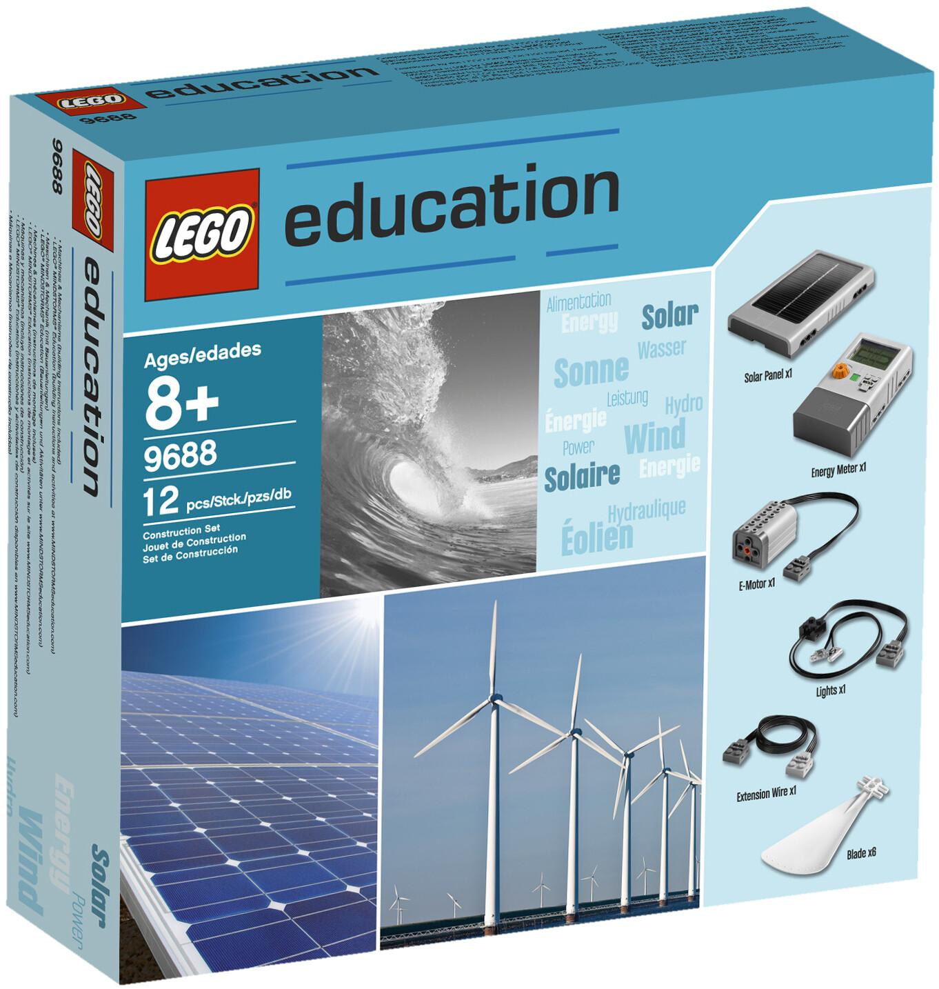 LEGO 9688 Образовательное решение «Возобновляемые источники энергии»