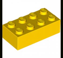LEGO 300124 Кирпич 2х4 (желтый)