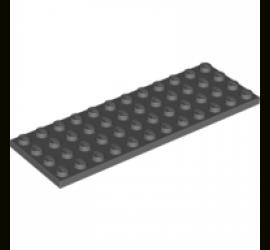 LEGO 4210706 Плитка 4X12 (темно-серая)