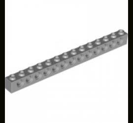 LEGO 4211705 Кирпичик 1X14, R4,9 (серый)