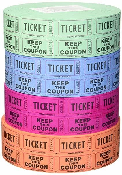 Raffle Tickets - MEALS 4 pack