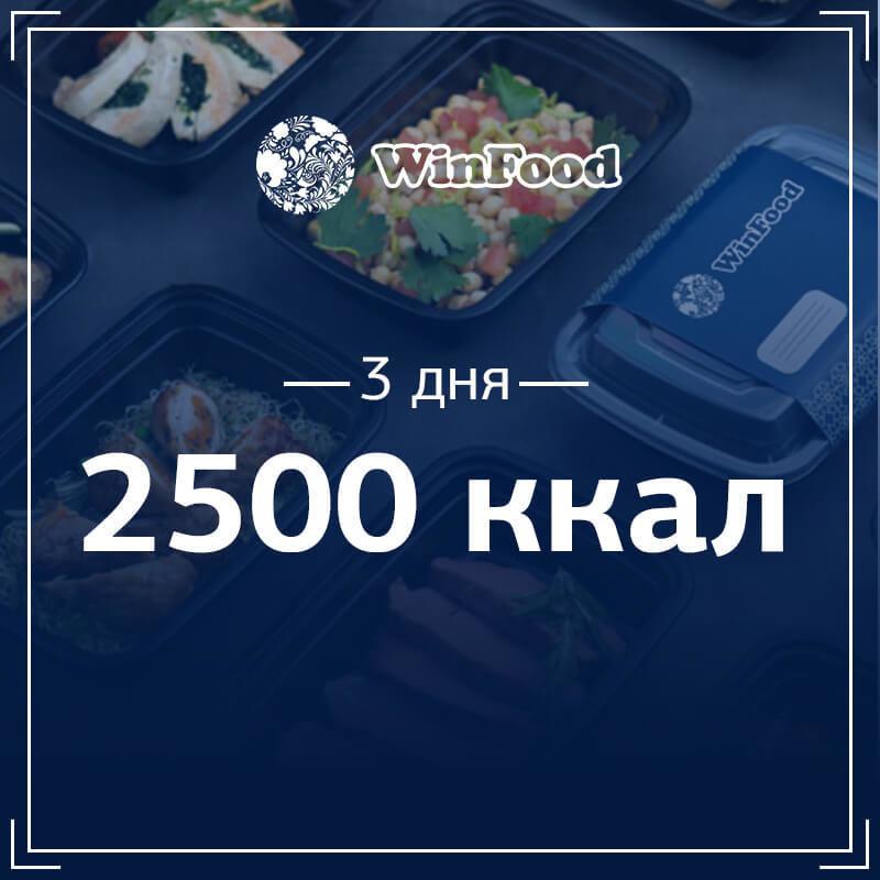 2500 кк, 3 дня 253