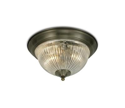 Macy IP44 2 Light E14 Flush Ceiling Light,