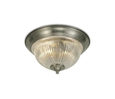 Macy IP44 2 Light E14 Flush Ceiling Light