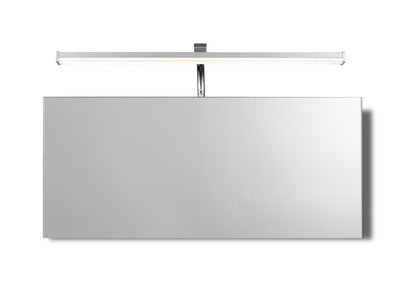 Sisley Wall Lamp 7W LED Chrome IP44 4000K, 420lm, Silver/Frosted Acrylic/Polished Chrome, 3yrs Warranty