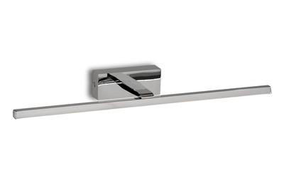 Yaque Wall Lamp, 8W LED, 3000K, 447lm, Polished Chrome, IP44
