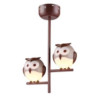 OWL pendant children lamp 2xG9 6W LED