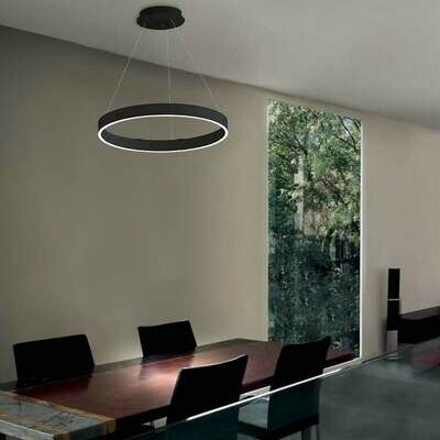 LOOp X1 circular pendant light LED