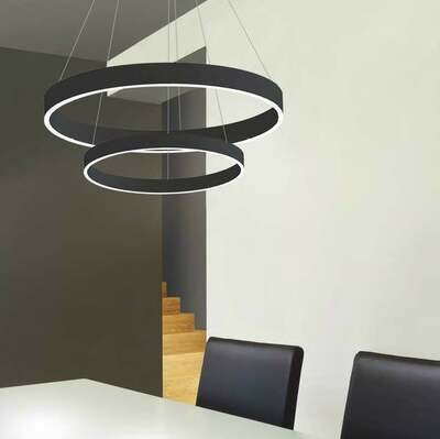 LOOp X2 circular pendant light LED