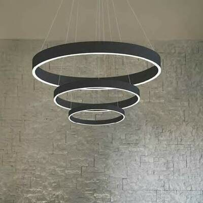 LOOp X3 circular pendant light LED