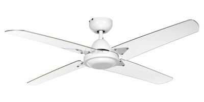 VENTILATORE SOFFITTO white ceiling fan by ROSSINI Ø122 Wall control included