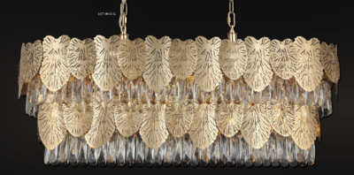 POSITANO 114x30 21 LIGHT CHANDELIER GOLD COLOR 21xE14