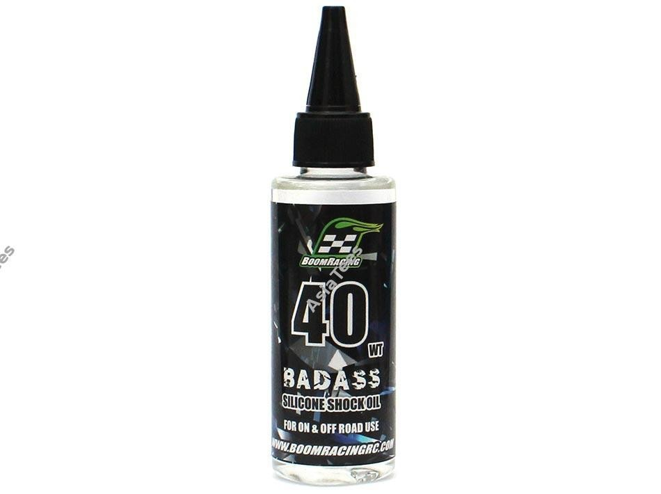 Boom Racing BADASS Silicone Shock Oil 40wt 60ml