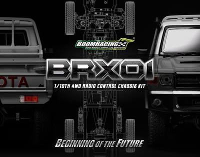 Boom Racing 1/10 4WD Radio Control Chassis Kit w/ Killerbody LC70 Hard Body Kit Set *Special Order*